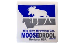 Sticker of Moose Flag